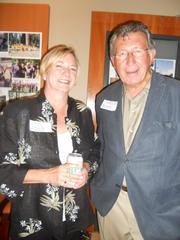 Former Seattle  Mayor Charles Royer and wife Lynn at the party