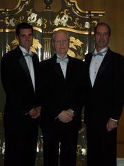 Colin Murphy (grandson of James G.); James G, Murphy; and son Tim Murphy, at a 2010 fundraiser at the Fairmont Olympic Hotel.