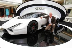 Tuatara Creator Jerod Shelby Took This Vehicle To A Shanghai Mall Attract High End