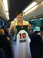 Seattle Storm meet President Obama at White House