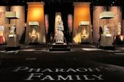 """The Pharaoh's Family gallery at """"Tutankhamun: The Golden King and the Great Pharaohs"""" at the Pacific Science Center."""