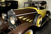A 1930 Chrysler 77 series roadster on the Concours level of the LeMay - America's Car Museum.