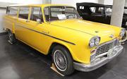 A 1968 Checker Marathon 4-door station wagon on display at the LeMay - America's Car Museum.