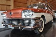 A 1958 Buick Century Caballero station wagon at the LeMay - America's Car Museum. The price in 1958 for the new station wagon was $3,831.