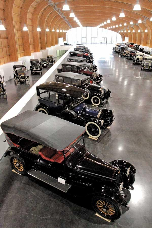 The Grand Gallery of the LeMay-America's Car Museum in Tacoma is scheduled to open in June.  The 1915 7-passenger touring Crane Simplex (bottom) was owned by John D. Rockefeller.