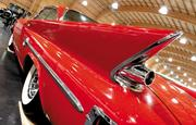 A 1961 Chrysler 300G two-door hardtop looks ready to blast off at the LeMay-America's Car Museum in Tacoma.