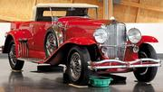 A 1930 Duesenberg Model J convertible worth $1.3 to $1.5 million graces the lobby of the LeMay-America's Car Museum in Tacoma.
