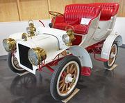 A 1906 Cadillac Model M Tulip Tourer on display at the LeMay-America's Car Museum in Tacoma.