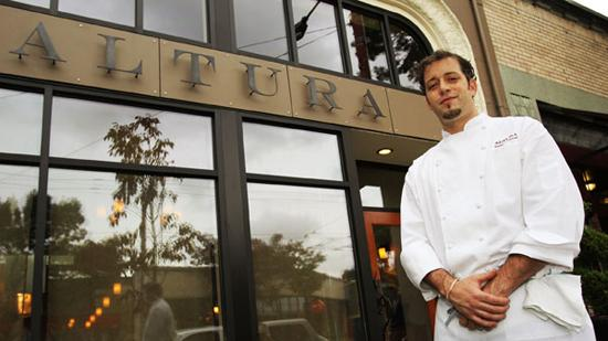 """Chef Nathan Lockwood officially opened Altura (""""hill"""" in Italian) Wednesday night."""