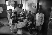 Every patient in this pediatric ward at Soroti Referral Hospital in eastern Uganda was diagnosed with malaria.