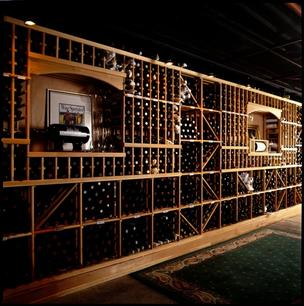 Metropolitan Grill Seattle wine cellar