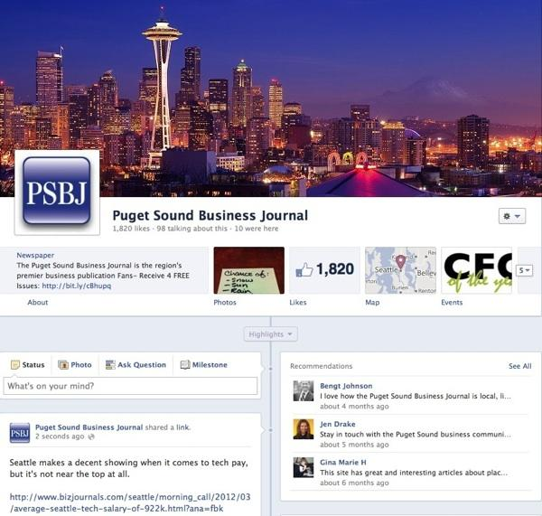 The new Facebook Timeline allows businesses to better lay out their brand's history.
