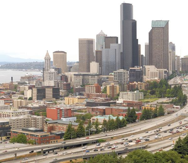 Office vacancies continued to decline in downtown Seattle in the second quarter of 2012, according to a new report by Colliers International. The Eastside office market and the Kent industrial market also improved.