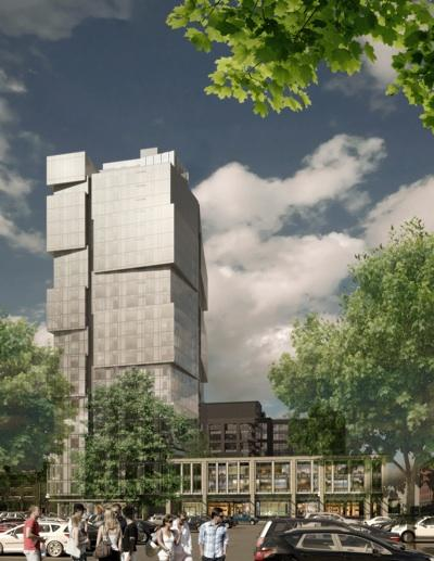 The Pioneer Square Preservation Board approved the design of the 25-story South Tower of Stadium Place near CenturyLink Field.