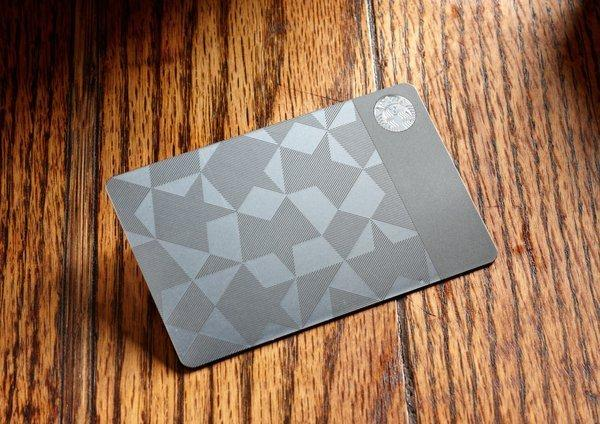 Starbucks' stainless steel gift cards worth $400 in Starbucks products, are listed for up to $8,000 on eBay.