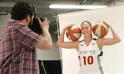 Photographer Terrance Caccaro catches Seattle Storm's Sue Bird showing her stuff.