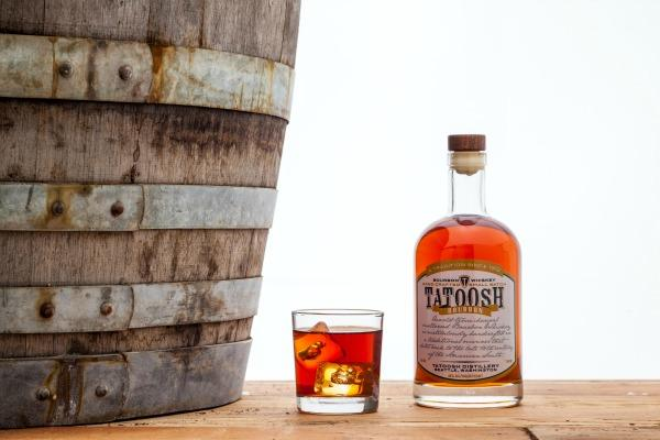The first product of Seattle's Tatoosh Distillery, Tatoosh Bourbon, was released last month and won a gold medal at the recent Beverly Hills Spirits Awards competition.