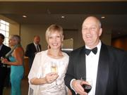 Kelly and Dean Tweedale were among hundreds of patrons at the opening night gala of Seattle Symphony on Saturday.