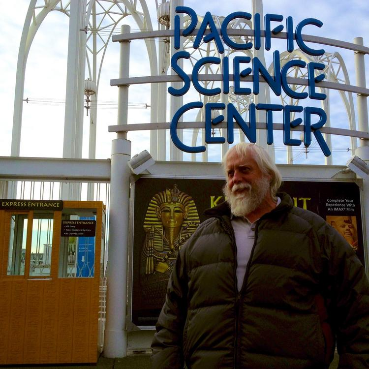 """Gordon """"Corky"""" Russell was the first visitor to the Pacific Science Center (PSC) the day after the World's Fair closed in Seattle on October 21, 1962. He was 13 years old at the time. Since then, PSC has welcomed 42 million visitors."""