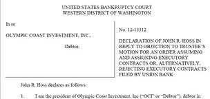 Olympic Coast Investment wrestles with Union Bank over securities worth $125M