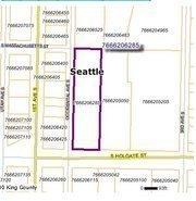 Arena site in Seattle's Sodo neighborhood.