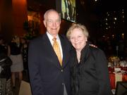 Former Gov. Dan Evans and his wife, Nancy, are civic and arts supporters and close friends of Gerard and Jody Schwarz. They attended a dinner for family and friends after the June 16 Seattle Symphony concert.