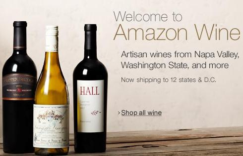 Amazon.com is now selling wines from Texas wineries.