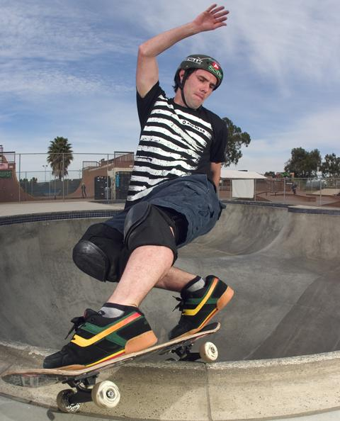 Skateboarder Andy Macdonald now sponsored by Amazon.com.