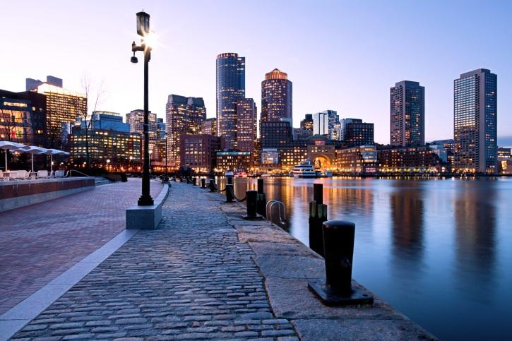 Office space in Boston is filling up and rents are rising, report says.