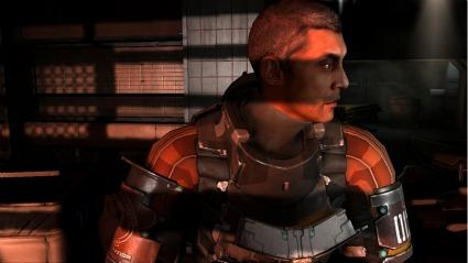 A scene from EA's Dead Space 2 for Xbox 360.