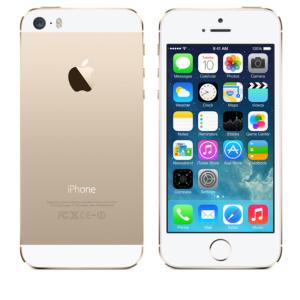 You'll have to wait if you want a gold-colored iPhone 5s model.