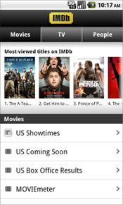 IMDb launches Android app - Puget Sound Business Journal