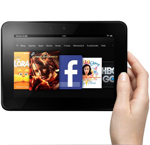 Amazon's new 7-inch Kindle Fire tablet
