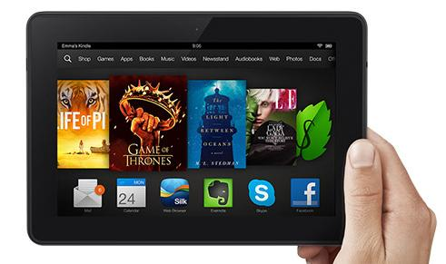 Amazon has begun shipping the Kindle Fire HDX.