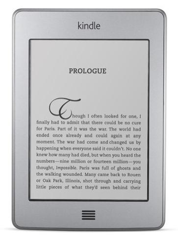 Amazon may be planning to announce a replacement for the Kindle Touch.