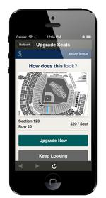 Mariners selling seat upgrades with new app
