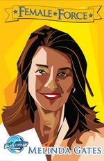 Melinda Gates, comic book superhero