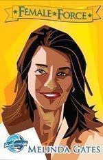 Melinda Gates, comic book superhero