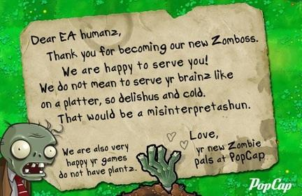 Electronic Arts Buying PopCap Games For Up To 13 Billion