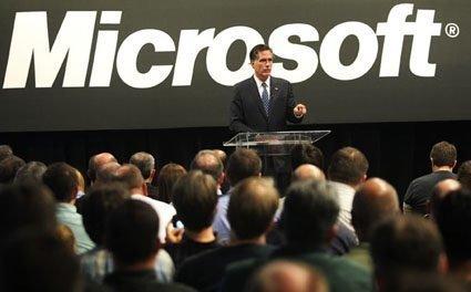 GOP presidential hopeful at Microsoft Thursday. (PSBJ/ Anthony Bolante)