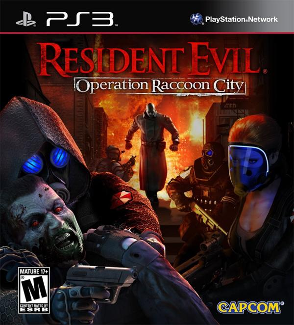 """""""Resident Evil: Operation Raccoon City,"""" a video game for PlayStation 3."""