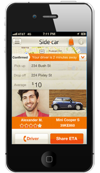 SideCr LLC's app is calleda peer-to-peer ride sharingserviceby company executives anda taxi service by Austin's regulators. The courts may decide.