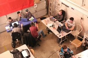 A recent 'CodeDay' hackathon at StudentRND.