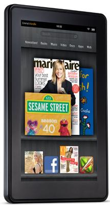 Amazon.com's Kindle Fire tablet