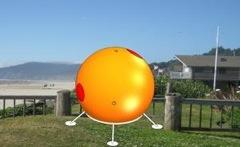 An escape capsule could become an important accessory for a beachfront home.