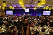 More than 500 people packed the Hyatt Regency Bellevue ballroom for the 2012 Puget Sound Business Journal Women of Influence celebration.