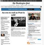 Two questions, two opportunities as Jeff Bezos buys The Washington Post