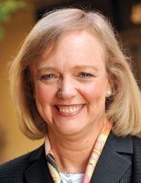 Meg Whitman, CEO of Hewlett-Packard Co.
