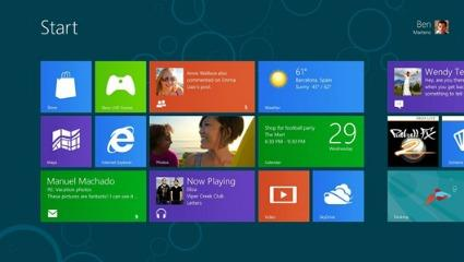 "The ""Metro"" interface of Windows 8 is aimed at unifying the user experience, regardless of platform."