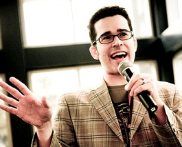 Chris Pirillo at Gnomedex 2007. (Credit: Kris Krüg)